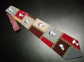 Peanuts Neck Tie Another Day Another 18 Holes Snoopy as Golfer in Action Poses - $10.99