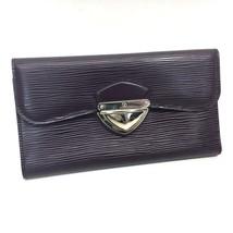 AUTHENTIC LOUIS VUITTON Epi Portefeuilles Eugenie Trifold Wallet Cassis ... - $420.00