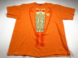 Dumb and Dumber Lloyd Orange Suit T-shirt XL Jim Carrey Lloyd Christmas - $14.99