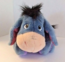 Eeyore Plush1999 Mattel Fisher Price Disney Ask Me More Talking Winnie ... - $21.77