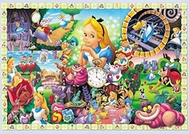 *108-piece jigsaw puzzle Alice in Wonderland Alice in the world (18.2x25.7cm) - $10.42
