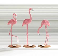 Pink Flamingo Tabletop Figurines Set of 3  - $34.95