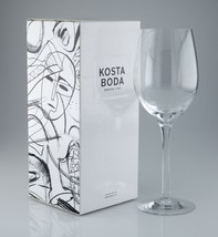 Kosta Boda Line XL Wine Glass 30 cc 7021513 w/ Box - $49.49