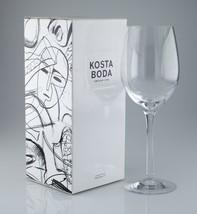 Kosta Boda Line XL Wine Glass 30 cc 7021513 w/ Box - $49.49