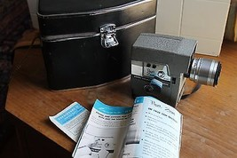 Revere Eye-Matic 8mm Power Zoom Movie Camera WO... - $79.20