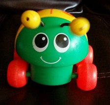 1982 Fisher Price Lady Bug Pull String Toy, # 695,  - $5.00