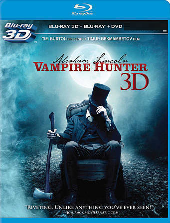 Abraham Lincoln: Vampire Hunter [3D + Blu-ray + DVD]