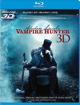 Abraham Lincoln: Vampire Hunter [3D + Blu-ray + DVD]
