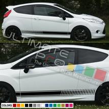 Mirror Stripe For Ford Fiesta ST RS 2013 2014 2015 2016 2017 2018 MK4 MK3 carbon - $34.60+