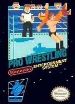 Pro Wrestling NINTENDO NES Video Game - $4.84