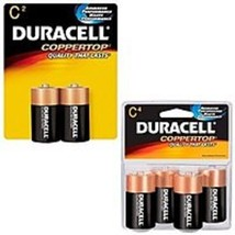 Duracell CopperTop MN1400R4Z 1400 C Size Alkaline General Purpose Battery - 4 Pe - $22.20