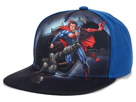 DC Comics Punch Snapback Hat batman Vs Superman New With Tags - $23.36