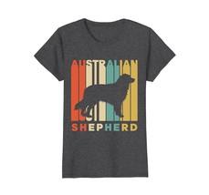 Vintage Style Australian Shepherd Silhouette T-Shirt - $19.99+