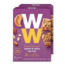 Discontinued: WW Sweet and Salty Nut Mini Bar - High Protein Snack Bar, ... - $34.25