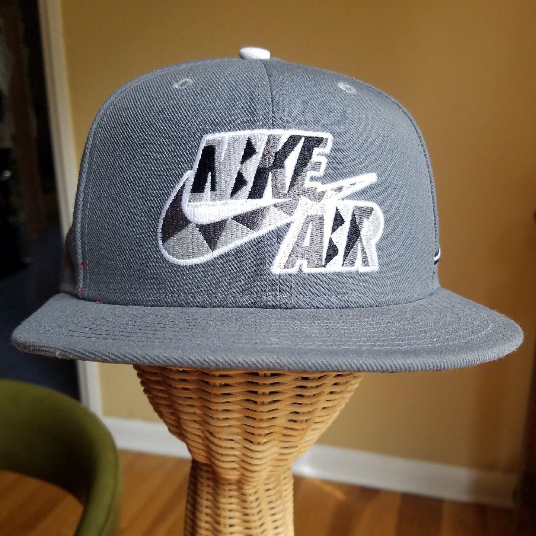 5b03c0fc023be Nike Air True Swoosh Logo Men s Snapback Hat and similar items. S l1600