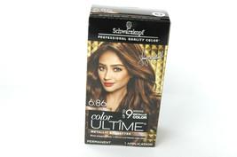 Schwarzkopf Color Ultime Metallic Permanent Hair Color 6.86 Sparkly Light Brown - $28.00