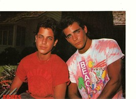 David Faustino Brian Bloom Scott Bloom teen magazine pinup clipping Faves - $7.00
