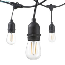 Hudson Lighting - LED String Lights - 48 Foot - 3 Year Warranty - Weathe... - $68.53