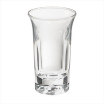 Plastic Reusable 1 oz 1.7 x 3 Shooter Clear SAN/Case of 48 - $114.29
