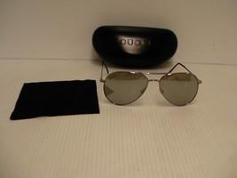 Gucci New sunglasses gg 1287/s half mirror silver frame gray lenses auth... - $158.35