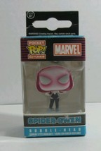 LOT OF 2 FUNKO MARVEL SPIDER-GWEN BOBBLE-HEAD KEYCHAIN POCKET POP! - $2.93