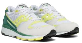 Saucony Azura Size US 7 M (B) EU 38 Women's Running Shoes White/Lime S60... - $63.70