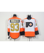 Men's Philadelphia Flyers 93 Jakub Voracek White 50th Anniversary Jersey - $48.90