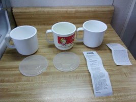 anchor hocking 16 ounce  mugs for microwave oven - $18.95