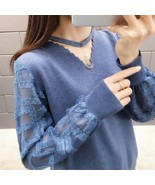 """Women""""s sweater sweater pullover  v neck 2019 new dress Spring thin lady... - €25,68 EUR"""