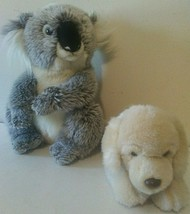 Webkinz Signature Koala Bear WKS1028 and Golden Retriever WKSS2004 Plush... - $29.65