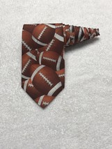 Ralph Marlin 1995 Just Balls Football  Made In USA Men's Tie Necktie - $10.44