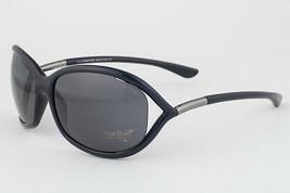 Tom Ford Jennifer TF8 Black & Gunmetal / Gray Sunglasses FT008 199 - $175.42