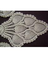 Vintage - Crochet panels  - $3.00