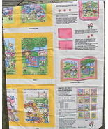 Grandma and the Patchwork Kids Fabric Book or Quilt Panel - $20.00