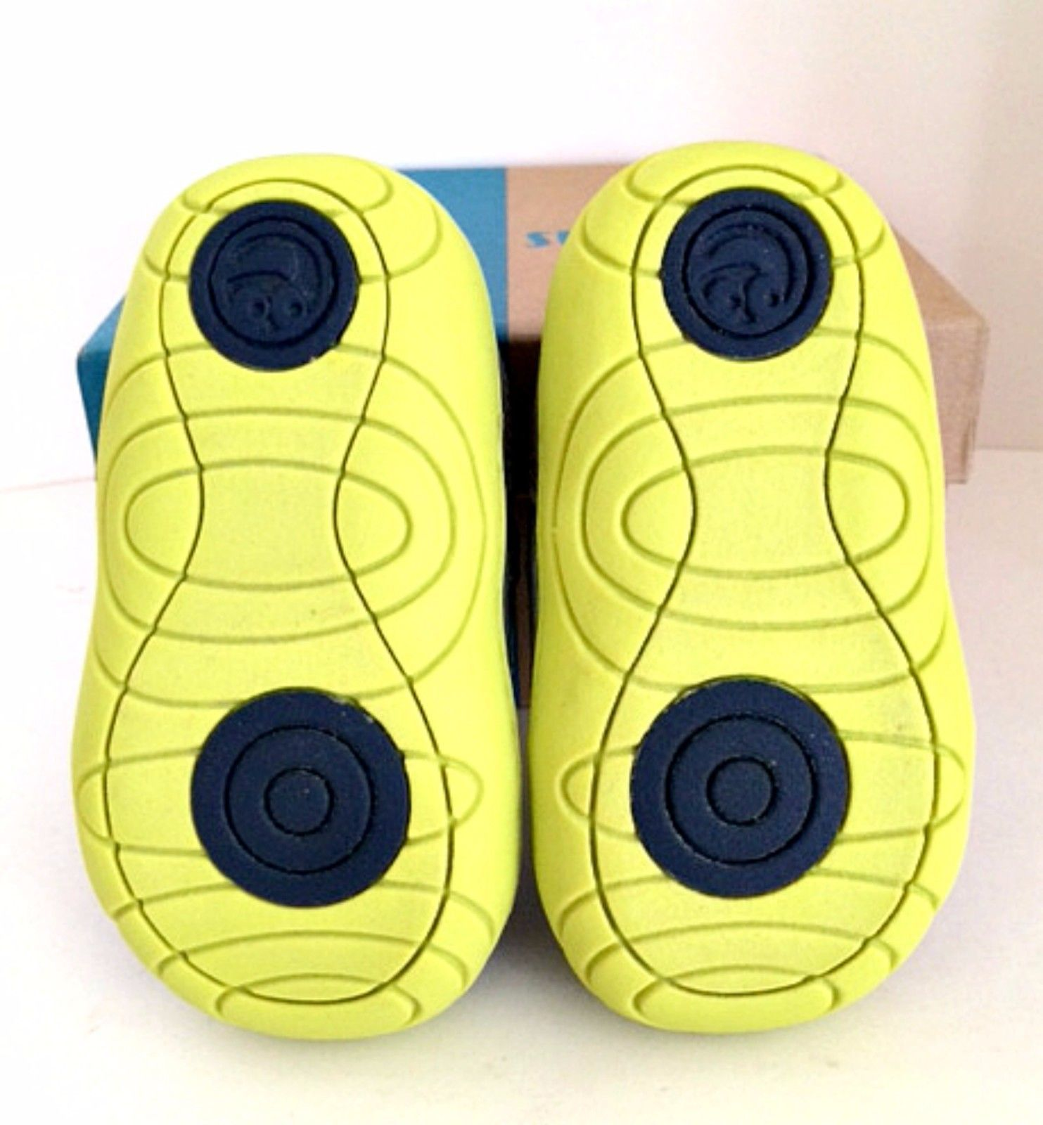 Aston Sneaker Surprize by Stride Rite Infant Toddler Boys Navy Lime Size 3