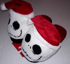 Disney NIGHTMARE BEFORE CHRISTMAS Santa Jack Kids SLIPPERS L 2/3 XL 4/5 NEW - $9.94