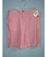 NWT Women's Westbound Red/White Stripe Shorts (Size 10) - $10.00