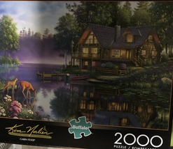 Buffalo Games Jigsaw Puzzle 2000 Pieces CABIN FEVER 38.5 x 26.5 In with Poster image 2