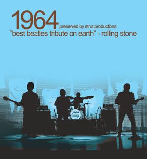 1964..THE BEATLES TRIBUTE Tickets 8/7 ORCH CNTR 7th Row Bonanza