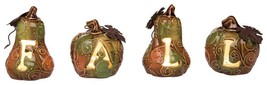 LIGHT UP FALL PUMPKIN DECORATION for Halloween and Thanksgiving - £21.83 GBP