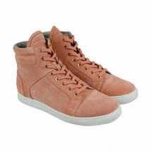 Kenneth Cole New York Men's Double Header Suede Sneakers Peach Size 8 M - $118.79