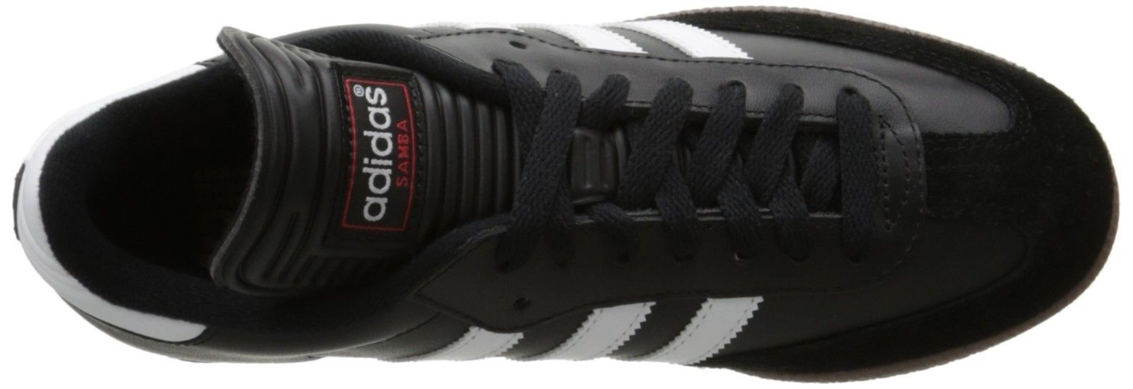 finest selection 89215 b9034 ... adidas Men s Samba Classic Soccer Shoe,Black Running White,9.5 ...