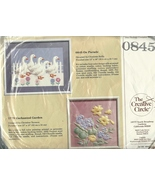 Geese On Parade Embroidery Kit Creative Circle 0845 Candlewicking Needle... - $8.93