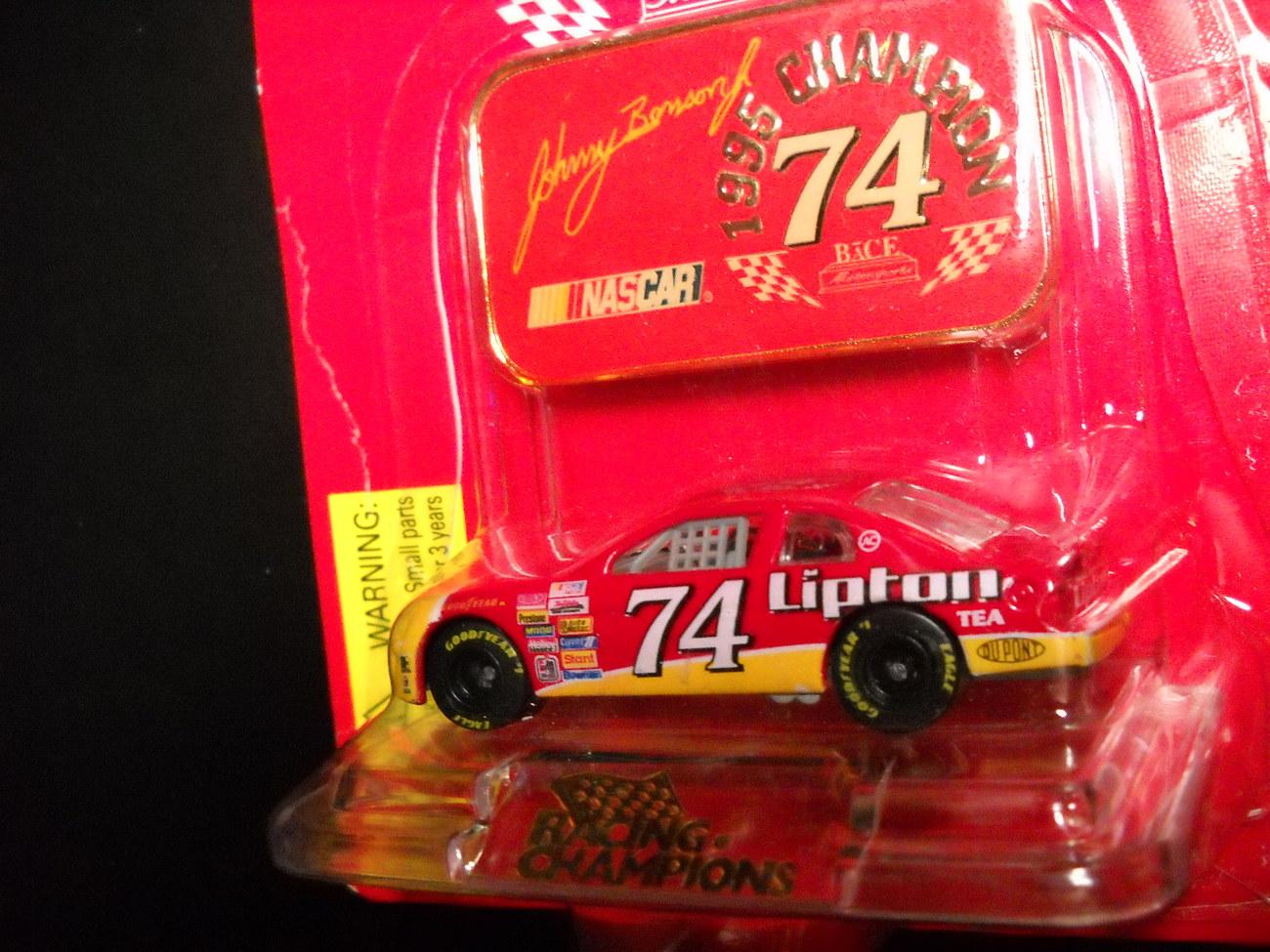 Racing Champions Johnny Benson Nascar Lipton 74 1995 Sealed