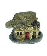 """Micro Rock Top Troll House, Mini Zen Fairy Garden House, 1.6"""" Terrarium ... - $7.99"""