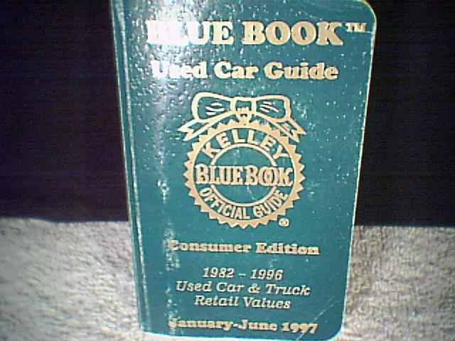 1997 Kelly Blue Book~~~  Bonanza
