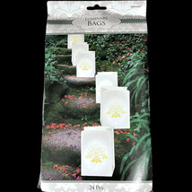 Elegant Damask Bridal Luminaries Party Decoration Pack of 24 by Amscan - $10.88