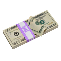 PROP MOVIE MONEY - PROP MONEY New Style $20 Full Print Play Fake Prop Stack - $14.00