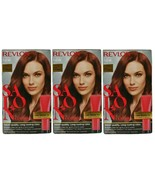 (Pack of 3) Revlon Salon Color 5RM Warm Mahogany Color Booster Kit Gray ... - $29.69