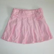 Gymboree Sweet Treats Pink Bow Corduroy Skirt size 4 - $8.99